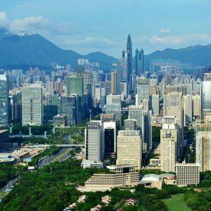 Shenzhen Skyline (cc-by-SA) Xublake