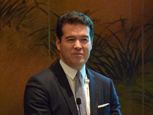 CTBUH Chairman David Malott, KPF, presents to CTBUH Leaders